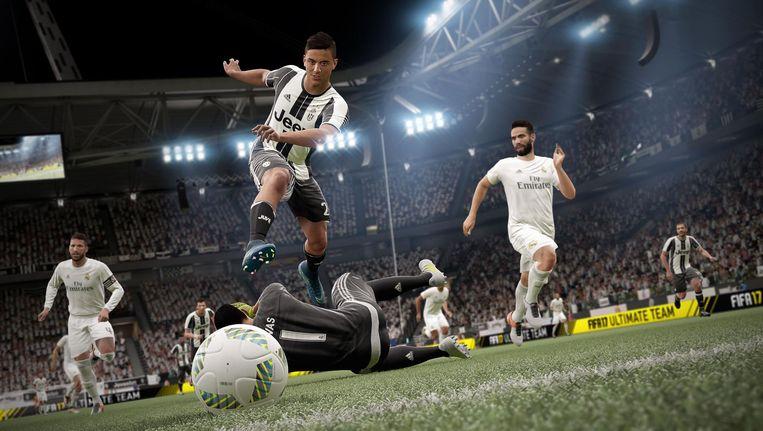 Still uit Fifa 17. Beeld
