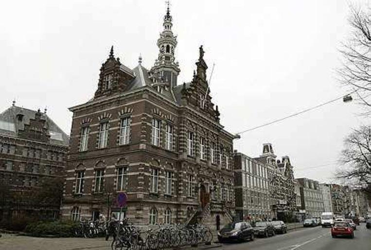 Het oude gemeentearchief aan de Amsteldijk. Foto ANP/Marcel Antonisse Beeld