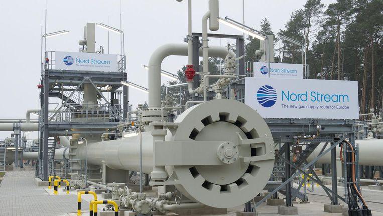 Deel van de Nord Stream 1. Beeld epa