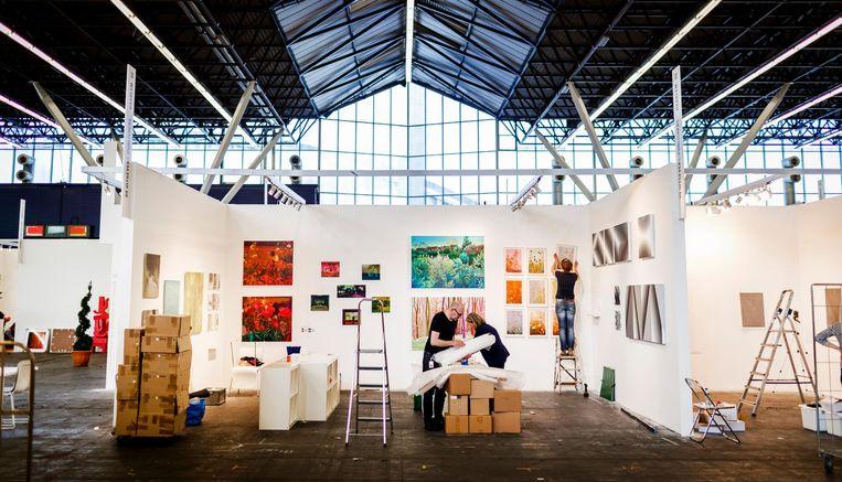 De Rai is volgebouwd met de kunst van tientallen galerieën. Beeld anp