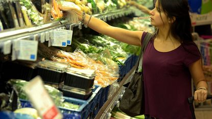 Vanaf september geen plastic zakjes meer voor groenten en fruit bij Delhaize
