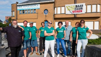 Groen 'kraakt' gebouw Van Langendonck