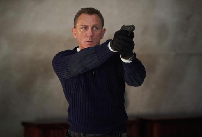 """Daniel Craig dans le rôle de James Bond dans """"No Time To Die""""."""