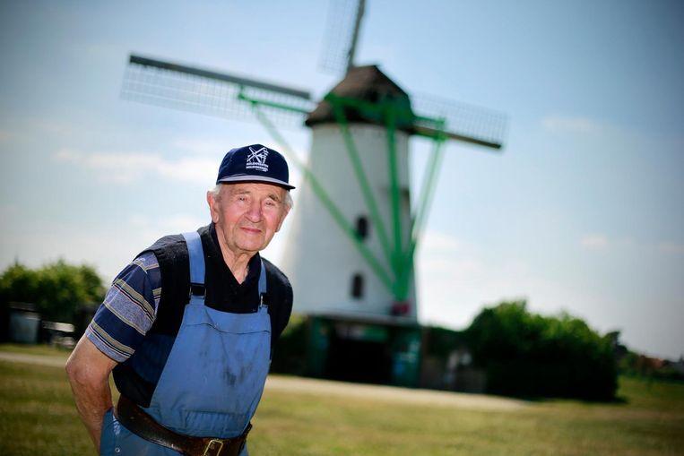 Theo werkte z'n hele leven in de Keijersmolen.