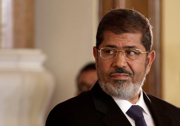Mohamed Morsi op archiefbeeld.
