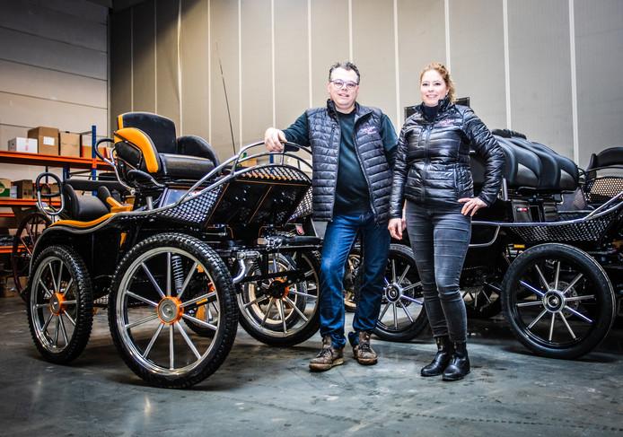 Gregor Melsen en Debbie den Drijver hebben ruimte genoeg in Numansdorp.