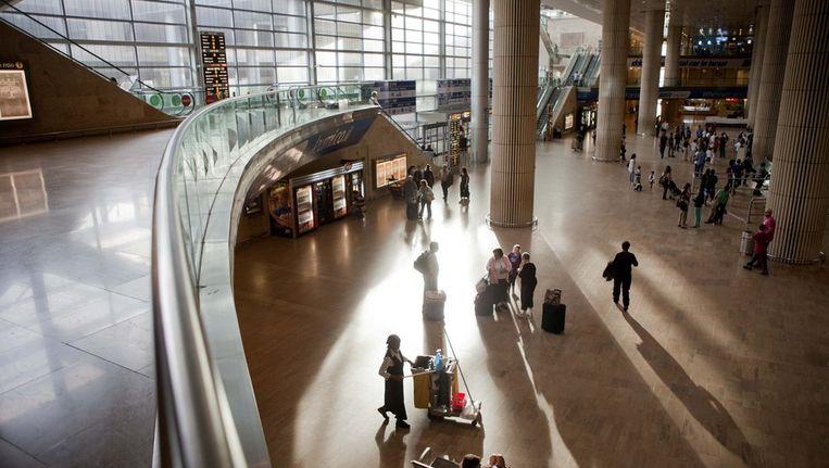 Het vliegveld van Tel Aviv Beeld ap