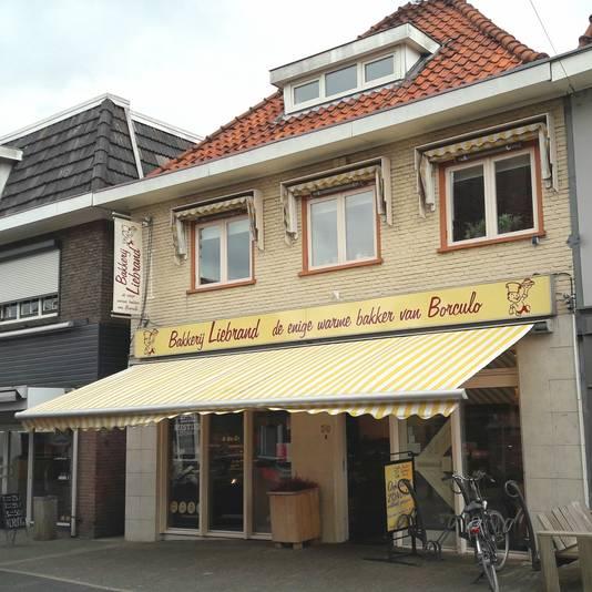 Bakkerij Liebrand aan het Muraltplein in Borculo is failliet