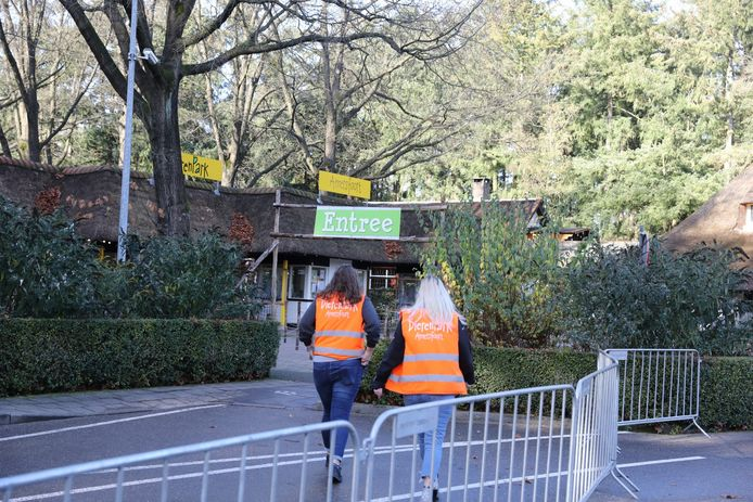 Het dierenpark is ontruimd