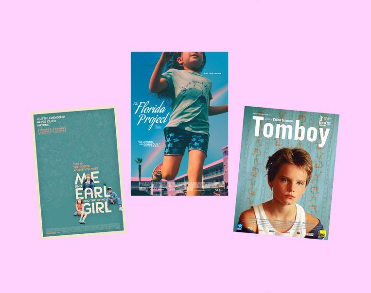 Selectie uit Letterboxdlijst 'Remembering Reality', met films over hoe we 'normaliteit' voor lief nemen – ook weer gesorteerd op kleur.  Beeld