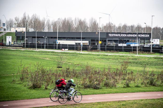 De XL-teststraat tussen Arnhem en Nijmegen.