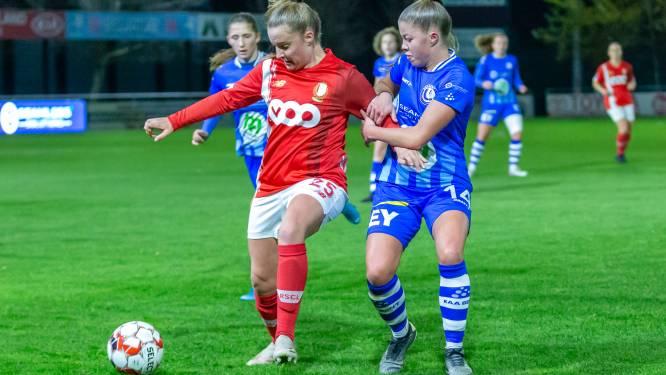 """Lyndsey Van Belle (AA Gent Ladies) na verlies tegen Standard: """"Partij goed begonnen, maar toch slikten we twee vroege goals"""""""