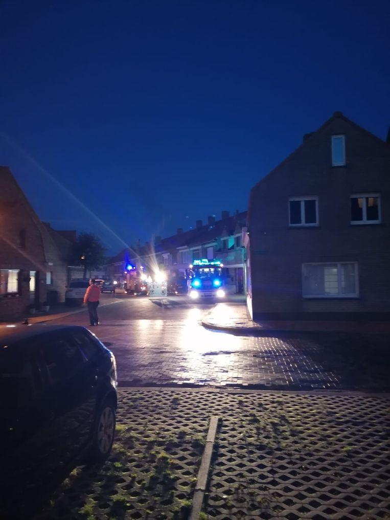 De brandweer had het incident snel onder controle.