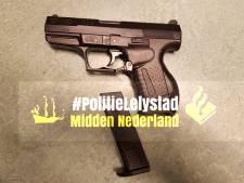 Balletjespistool blijkt oorzaak van grote politieactie in Lelystad