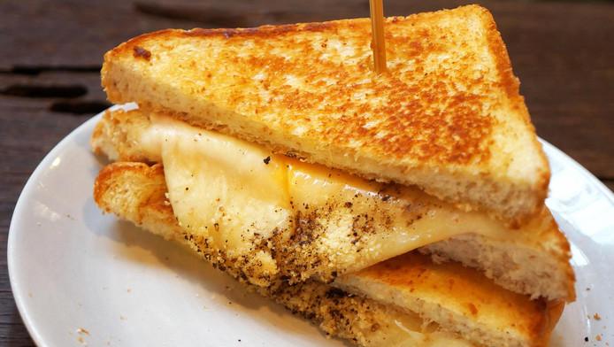 Een tosti met kaas