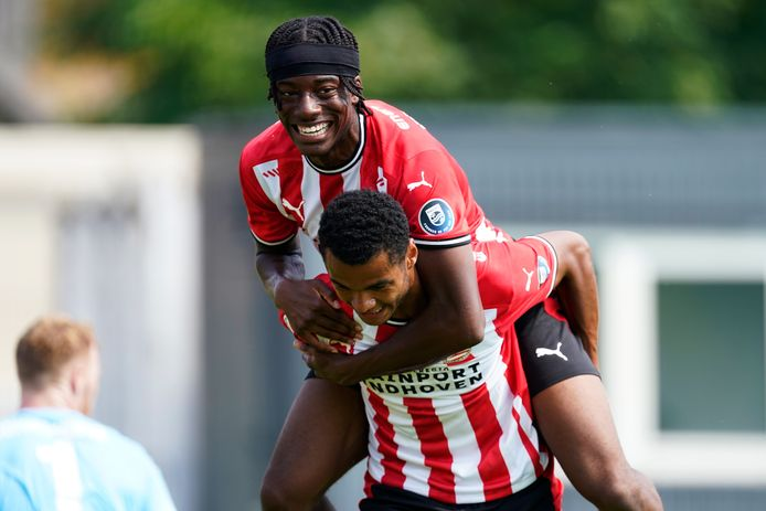 PSV heeft de 1-0 gemaakt.