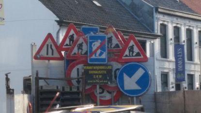 Kruispunt Bruggestraat-Meulebekestraat vanaf maandag afgesloten