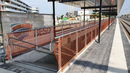 Perrons 1 en 2 in Aalters station vernieuwd