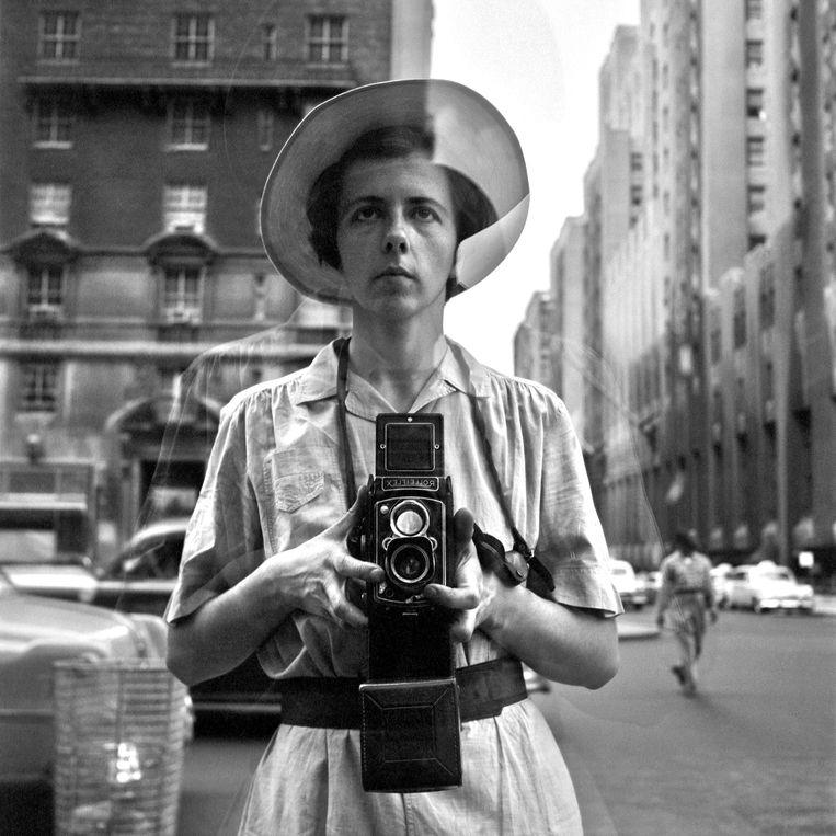 Zelfportret van Vivian Maier. Beeld Imageselect