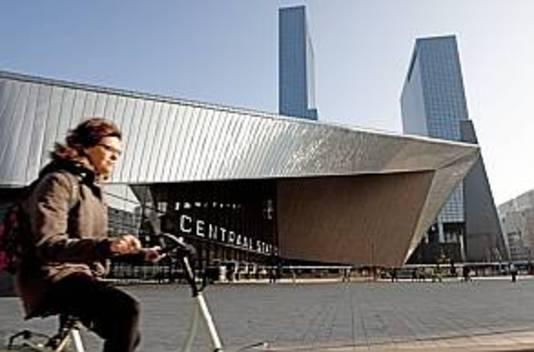 Het centraal station van Rotterdam.