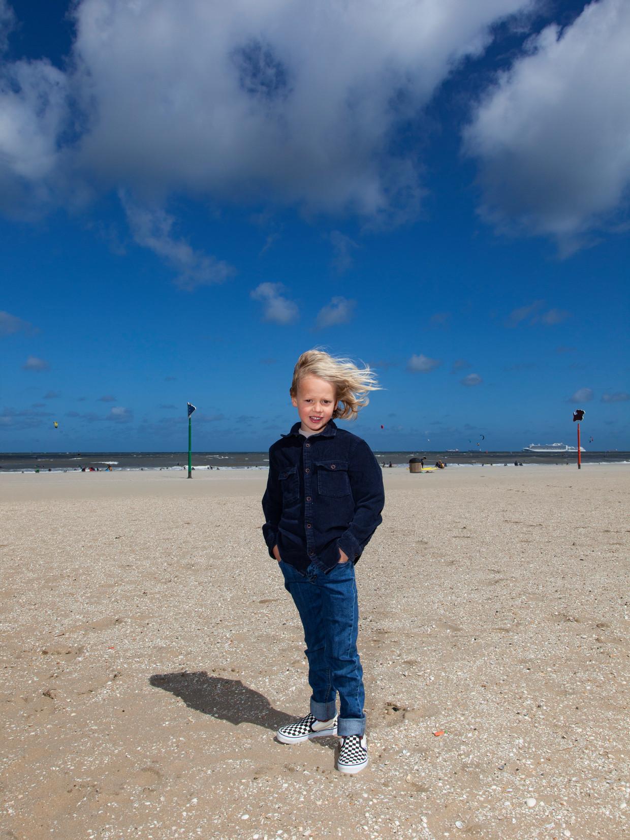 Lewis van der Ree: 'Ik wil graag naar Venus, want daar regent het zwavel, heeft papa verteld.'