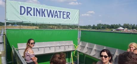 Watertap kapot op festival Central Park, nieuw waterpunt bij ingang