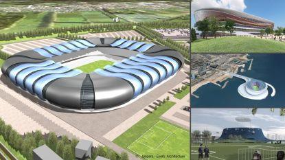 Van het Eurostadion tot een Siamese tempel in Liverpool: de gekste stadionplannen die er nooit door kwamen