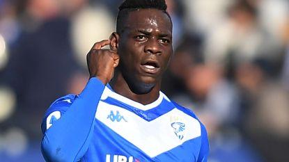 "Brescia is fratsen Balotelli beu en wil flamboyante spits ontslaan: ""Ik ben zo ontgoocheld in hem"""