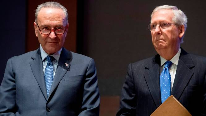 McConnell staakt verzet tegen akkoord met Democraten over delen van de macht in de Senaat