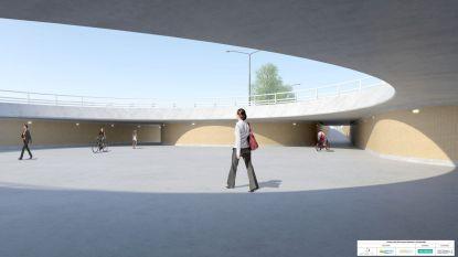 """Nieuwe rotonde op druk kruispunt langs Natiënlaan moet verkeersveiligheid verhogen: """"Fietsers en voetgangers kunnen onder rotonde door"""""""