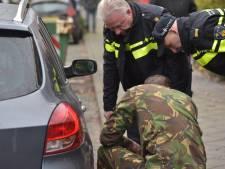 Experts inventariseren vuurwerkschade aan woningen Vinkenbroek
