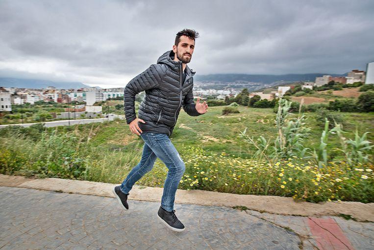Bilal Amarzagoui. Foto : Guus Dubbelman / de Volkskrant Beeld