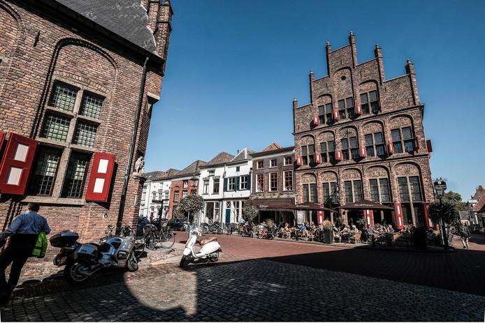 Het centrum van Doesburg.