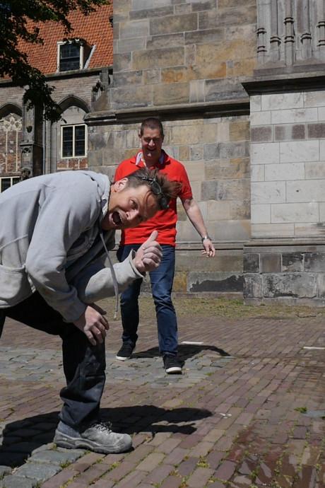 Stiften met Jan Michels: Deventer klusser met roodgeel hart werd drie keer kampioen in Den Bosch