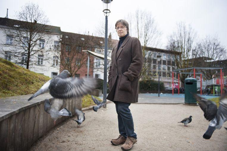 Marie-Claire Migerode werkt al 30 jaar in een buurthuis in de wijk Molenbeek. Beeld null