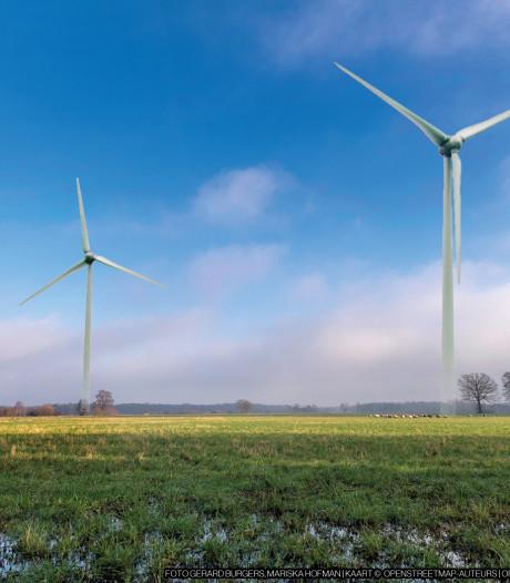 Energiebedrijven willen windmolens bouwen bij Spankeren