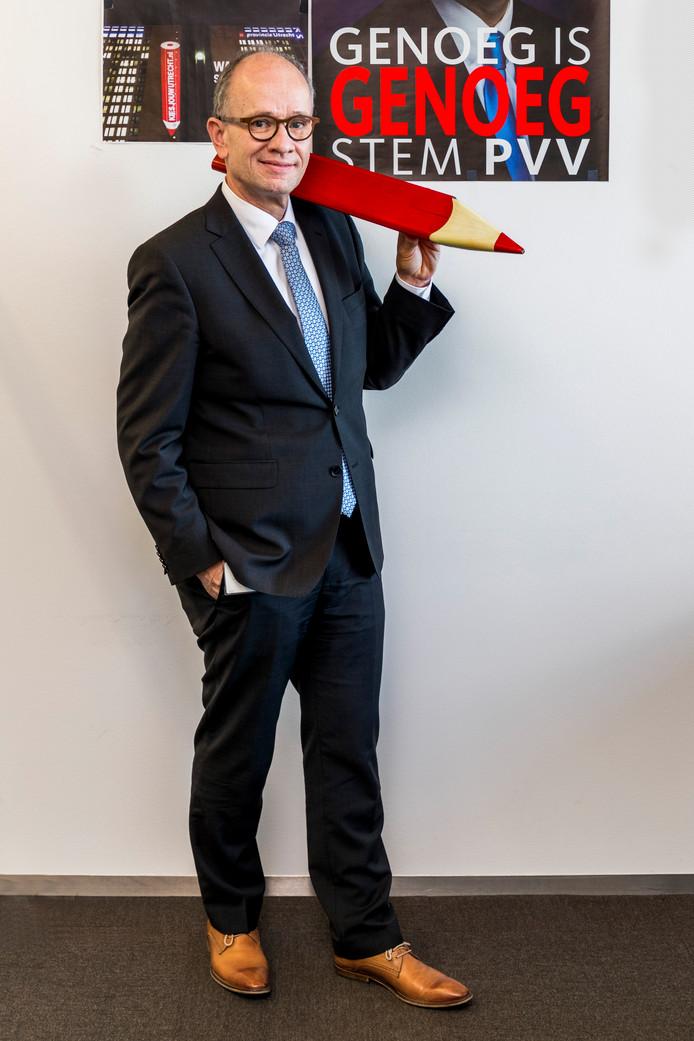 PVV-lijsttrekker Henk van Deún.