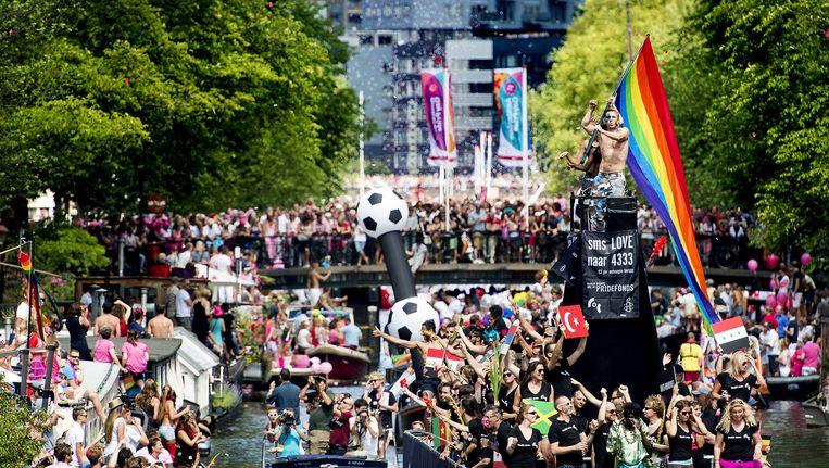 Gay Pride 2013 Beeld ANP
