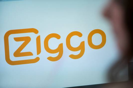 Het logo van kabeltelevisie aanbieder Ziggo.