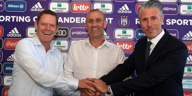 Arnesen, Davies en Verschueren.