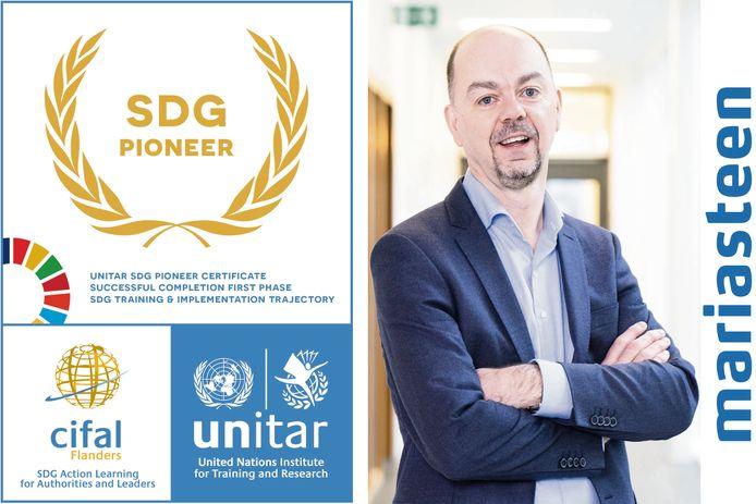 Mariasteen krijgt als een van de eerste honderd Belgische bedrijven een certificaat voor duurzame ontwikkeling van de Verenigde Naties