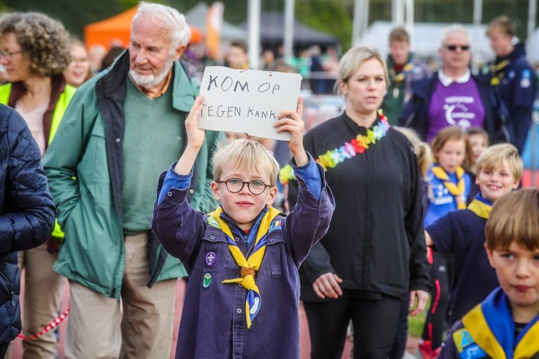 Vele duizenden Bruggelingen, jong en oud, liepen of wandelden afgelopen weekend tegen kanker.
