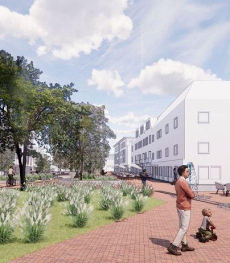 3D-beelden en schetsen geven beeld van nieuw centrum Raalte: veel groen of meer ruimte voor evenementen?