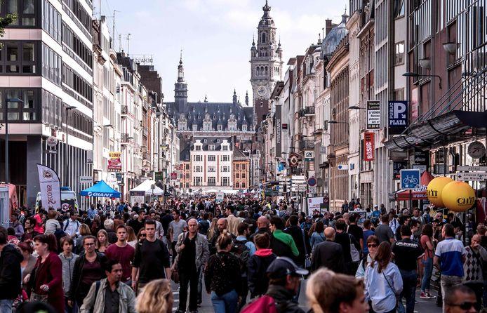 La Braderie de Lille en 2017.