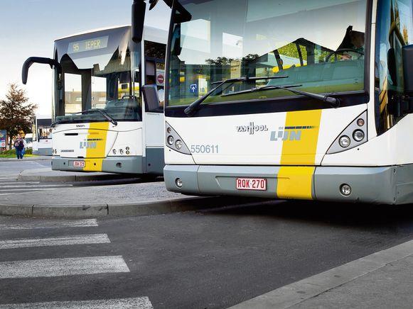 Illustratiebeeld De Lijn bus