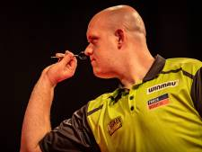 Van Gerwen slacht Gurney in Premier League