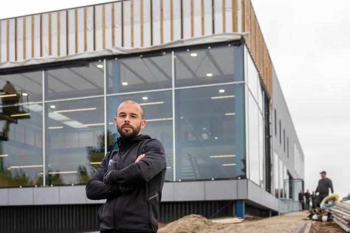 Thomas Verheij bij het nieuwe beweegcentrum van Formupgrade, dat eind vorig jaar werd geopend.