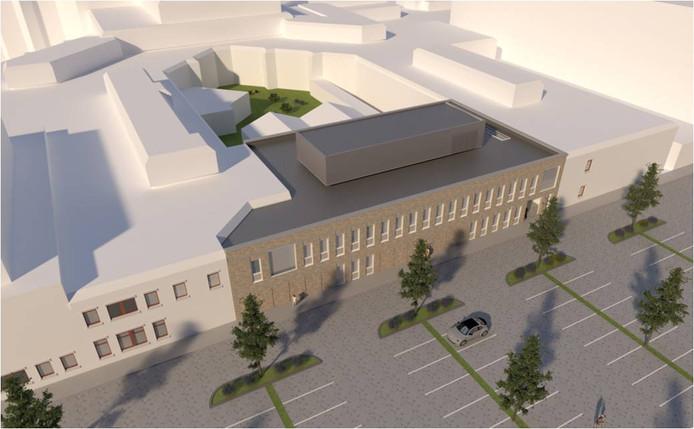 Uitbreiding nieuwbouw St Jansdal  voor Radiologie aan de oostkant van het ziekenhuis. Hierdoor worden twee vleugels met elkaar verbonden. Eind van dit jaar moet dit deel klaar zijn.