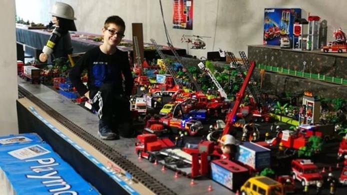 De Playmobil-collectie op de A12 bij Driebergen.
