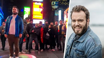 IN BEELD. Jens Dendoncker trekt dan toch naar New York voor de Emmy Awards... al is dat wel in 3D-versie